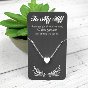 Jewelry - 🎀 $8 or $5 Bundled BFF Silver Necklaces